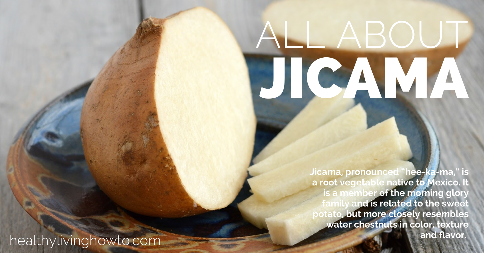 All About Jicama| healthylivinghowto.com